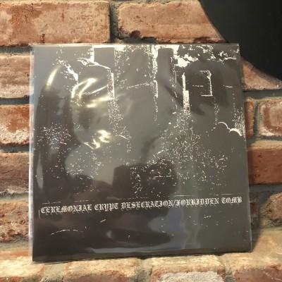 Ceremonial Crypt Desecration / Forbidden Tomb - Split LP