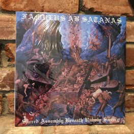 Famulus Ab Satanas - Sacred Assembly Beneath Unholy Secrecy LP