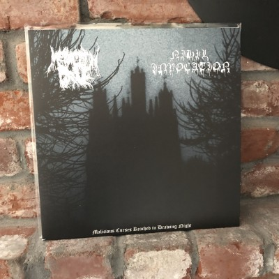 Megalith Grave / Nihil Invocation - Malicious Curses Reached in Drowning Night LP